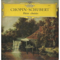 CHOPIN-SCHUBERT 33T DGG TULIP N° 104 407 PIECES CHOISIES