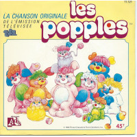 LES POPPLES 45SP ADES N° 11121 CHANSON ORIGINALE SERIE TELEVISEE TF1