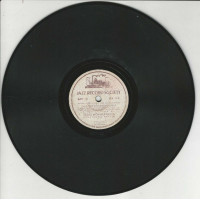 CLARENCE WILLIAMS BLUE FIVE 78T25 JAZZ RECORD SOCIETY AA 113 TEXAS MOANER BLUES-COAL CART BLUES