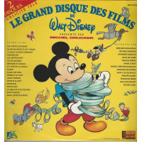 LE GRAND DISQUE DES FILMS DE WALT DISNEY 33TD DISNEYLAND WD10548F