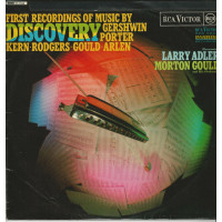 LARRY ADLER 33T RCA VICTOR SF7920 DISCOVERY