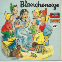 BLANCHENEIGE LIVREDISQUE 33T17 VOGUE STEREO ENF 33 05 DESSINS: GERMAINE BOURET